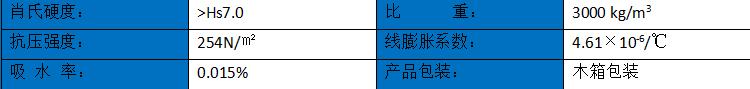 大理石平臺【1000mm*700mm*150mm】特性
