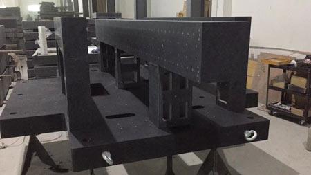 京东方大理石机械构件案例-高精度大理石平板案例